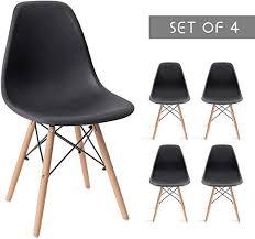 Devoko Modern Dining Chairs Mid Century Pre ... - Amazon.com