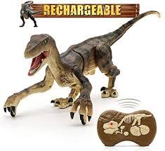 Hot Bee Remote Control Dinosaur Toys, Walking ... - Amazon.com