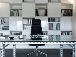 ultra modern office furniture home office modern with black and white bookcase built office furniture