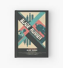 """Ridley Scott's <b>Blade Runner</b> Film Poster"" <b>Hardcover</b> Journal by ..."