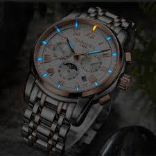 <b>carnival</b> c8799 luminous display <b>automatic mechanical watch</b> at ...