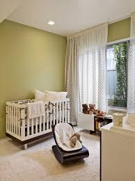 attractive white curtain for wide glass windows in simple baby room with white crib and unique baby nursery rockers facing white changing table baby nursery rockers rustic