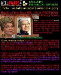 rosa parks fraud she is now president of ellen johnson post navigation
