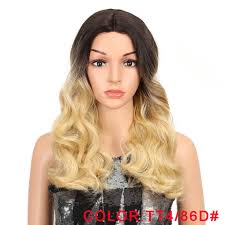 Online Shop <b>MAGIC Synthetic Lace</b> Front Wigs For Black Women ...