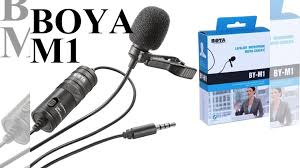 Петличный микрофон <b>Boya</b> BY-<b>M1 для Dslr</b> и Смартфона купить ...