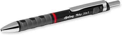 Rotring 1904359 Tikky <b>3</b>-in-<b>1 Multipen</b>, 0.7 mm - Blue and Red Ink ...