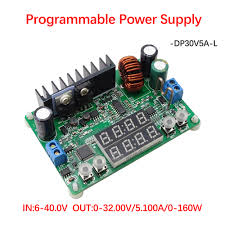 RD <b>DP30V5A L Constant Voltage current</b> Step down Programmable ...