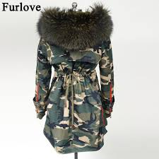 Furlove <b>New 2016 Winter</b> Coats <b>Women</b> Jackets Real Large ...