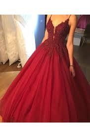 <b>Spaghetti Strap Prom Dress</b> | Dressafford