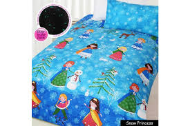 Glow in The Dark <b>Snow Princess</b> Quilt Cover Set DOUBLE by Happy ...