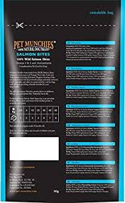 <b>Pet</b> Munchies 100% Natural <b>Salmon Bites</b> 8x90gm: Amazon.co.uk ...