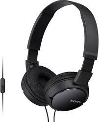 <b>Накладные наушники Sony MDR-ZX</b> 110 AP черный купить в ...