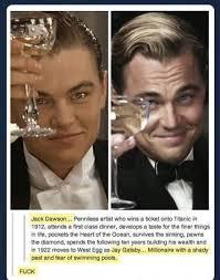 Best of Tumblr, Leonardo DiCaprio, The Great Gatsby | Ha Ha Ha ... via Relatably.com