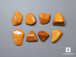 12-105/1 <b>Яшма</b> желтая, галтовка 1-1,<b>5</b> см - в наличии, цена - 40 руб