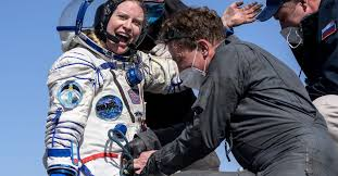 Three <b>astronauts</b> return from International <b>Space</b> Station | Reuters
