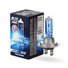 Галогенная <b>лампа AVS ATLAS</b> BOX/5000К/ <b>H7</b>.12V.55W.Коробка ...