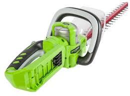 Купить <b>Кусторез аккумуляторный greenworks G24HT57</b> без АКБ и ...