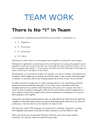 team work docx skill