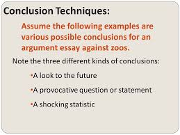 writing a conclusion for an essay grade  argumentative writing conclusions copyright   write  conclusion techniques