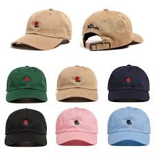 The Hundreds <b>Dad</b> Hat Flower Rose Embroidered <b>Curved Brim</b> ...