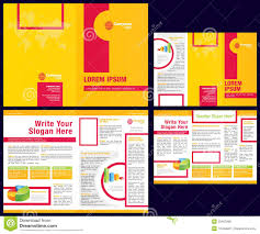 vector business brochure tri fold flyer template royalty vector business brochure tri fold flyer template