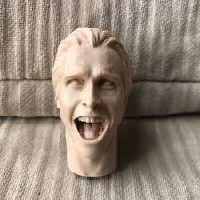 Free Shipping Blank <b>1/6 scale</b> Head Sculpt <b>Christian Bale</b> American ...