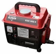 Купить <b>Бензиновый генератор ELITECH БЭС</b> 950 Р (650 Вт) по ...