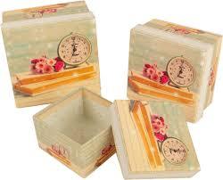 "<b>Набор подарочных коробок</b> ""<b>3</b> в 1"", квадратных, 2854449, 3 шт ..."