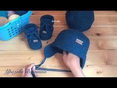Комплект для малыша @ot.niki Пинетки+<b>шапочка</b> - YouTube (With ...