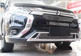 <b>Решетки радиатора Grille для</b> Mitsubishi Outlander 3 2019 +
