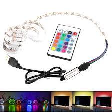 43:09 Flash sale -55% Price $9.85 <b>5V RGB USB Led</b> Strip Light TV