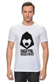 <b>Футболка классическая Digital</b> Resistance. Цифровое ...