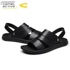 Camel Active New <b>Summer Men Sandals</b> Genuine Cow Leather ...