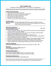 resume sample electrical technician bar staff resume samples