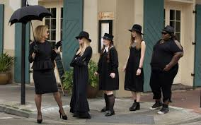 dress up like your favorite american horror story coven character jessica lange emma roberts jamie brewer taissa farmiga and gabourey sidibe
