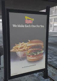 <b>Vintage</b> Fast Food Bus Stop Ads 1.0 - <b>GTA5</b>-Mods.com