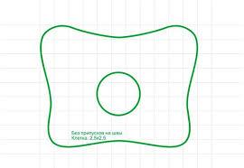 Выкройка ортопедической <b>подушки</b> | Узоры <b>подушек</b>, <b>Подушки</b> ...