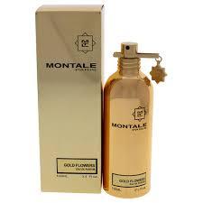 <b>Montale</b> - <b>Gold Flowers</b> by Montale for Unisex - 3.4 oz EDP Spray ...