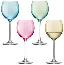 Купить <b>LSA Набор бокалов</b> Polka wine glass PZ03/PZ09 4 шт. 400 ...