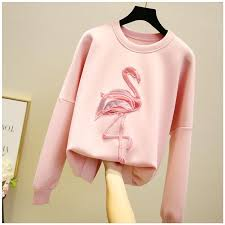 Korean Version Of The Autumn Crew Neck Loose Lazy <b>Style</b> ...