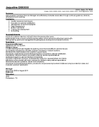 Sample Resume  Sales Tax Associate Resume Exles Near