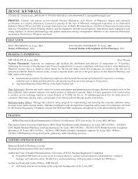 clinical pharmacist resume template clinical pharmacist resume