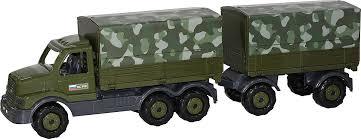 <b>Полесье</b> Грузовик военный <b>бортовой</b> тентовый с прицепом ...