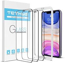 TETHYS Glass Screen Protector Designed For iPhone ... - Amazon.com