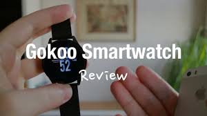 GOKOO Smartwatch Fitness Tracker Review (IP67 Water and Heart ...