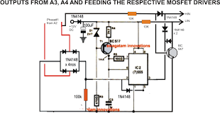 single phase variable frequency drive circuit diagram single driving three phase motor on single phase supply circuit diagram on single phase variable frequency drive