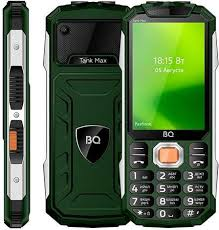 Купить Мобильный <b>телефон BQ</b> Tank Max <b>3586</b>, зеленый в ...