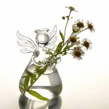 Новая Милая стеклянная подвесная <b>ваза в форме</b> ангела для ...