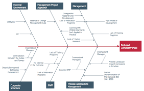 fishbone diagrams solution   conceptdraw comthis sample diagram from the fishbone diagrams solution visualizes the most frequent causes and effects that can occur when developing a business
