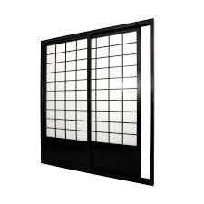 oriental furniture shoji door sliding kit room divider cheap oriental furniture